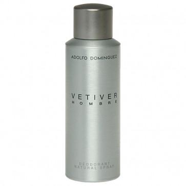 Adolfo Domínguez VETIVER HOMBRE Desodorante Vaporizador 200 ml