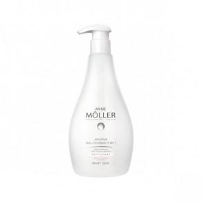 Anne Möller CLEAN UP 3 IN 1 Água micelar de limpeza de alta tolerância 400 ml
