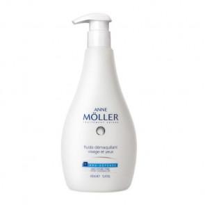 Anne Möller CLEAN UP PRO-DEFENSE Fluido desmaquilhante rosto e olhos 400 ml