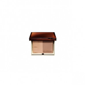 Clarins BRONZING DUO Mineral Powder Compact 01 Light 10 gr