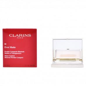 Clarins EVER MATTE Poudre Compacte Minérale 00 Transparent Opal 10 gr