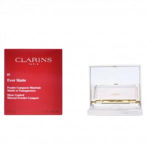 Clarins EVER MATTE Poudre Compacte Minérale 01 Transparent Light 10 gr