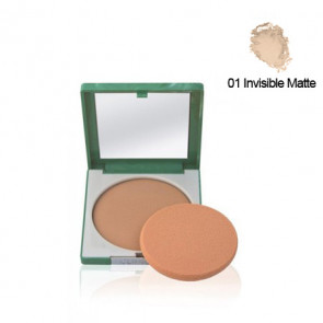 Clinique STAY-MATTE Sheer Pressed Powder 01 Invisible Matte Polvos compactos 7.6 gr