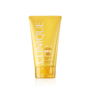Clinique SUN Face/Body Cream SPF 15 Protector facial y corporal en crema 150 ml