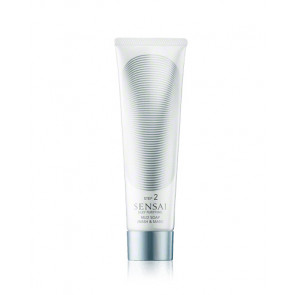 Kanebo SENSAI SILKY Mud Soap Wash & Mask Jabón y Mascarilla Facial Limpiadora 125 ml